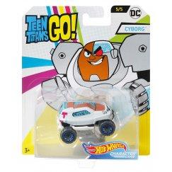 Машинка Hot Wheels FLJ11 DC Teen Titans Go Cyborg