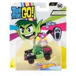 Машинка Hot Wheels FLJ12 DC Teen Titans Go Beast Boy