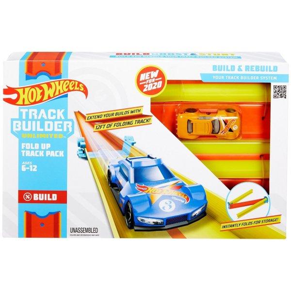 Mattel Hot Wheels Конструктор Трасс Крутой поворот GLC87 / GLC89 Далекие прыжки