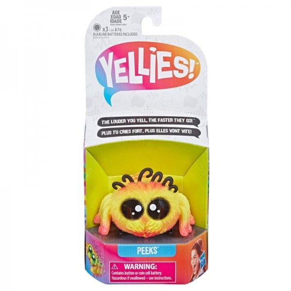 E5381 Интерактивная игрушка Yellies Паучок Peeks, E5064 E5381