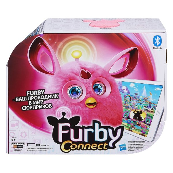 Ферби Коннект (Furby Connect) Розовый