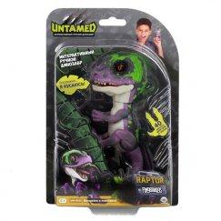 Динозавр Fingerlings Untamed интерактивный Dino Фиолетовый с Темно-зеленым 3784