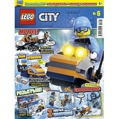 Набор лего - Журнал Lego City № 06 (2018)