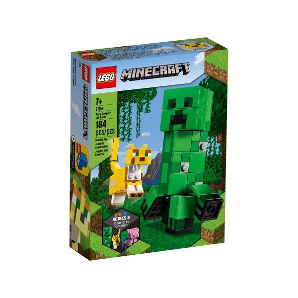 LEGO Minecraft 21156 Конструктор Крипер и Оцелот