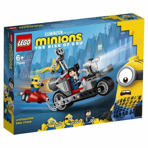 LEGO Minions 75549 Невероятная погоня на мотоцикле