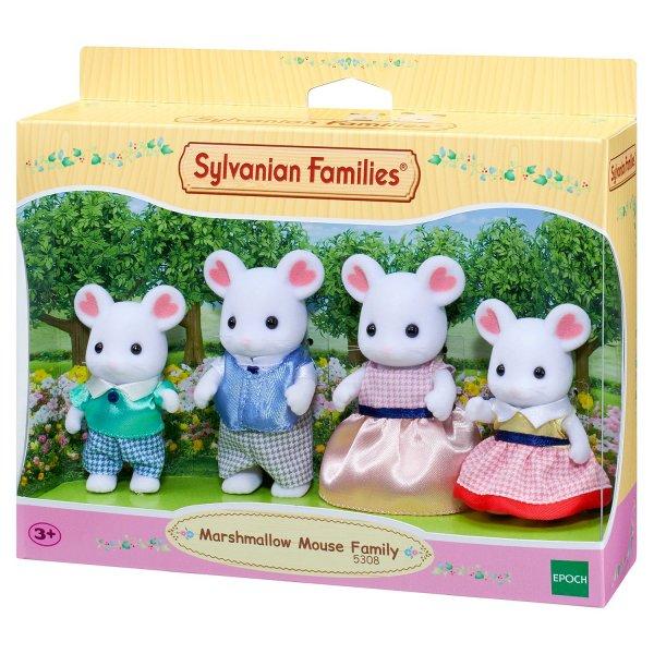Игровой набор Sylvanian Families Семья Зефирных мышек 5308
