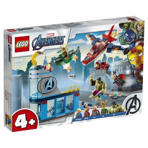 LEGO Marvel Super Heroes 76152 Мстители: гнев Локи
