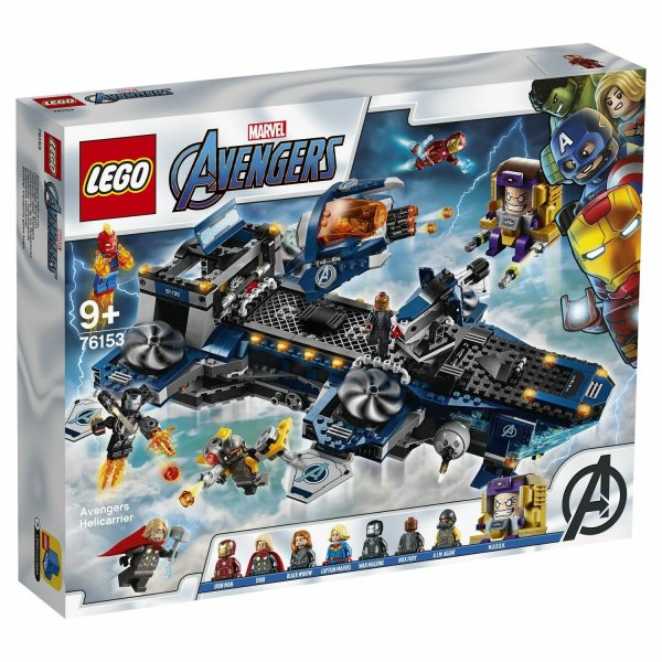 LEGO Marvel Super Heroes 76153 Геликарриер