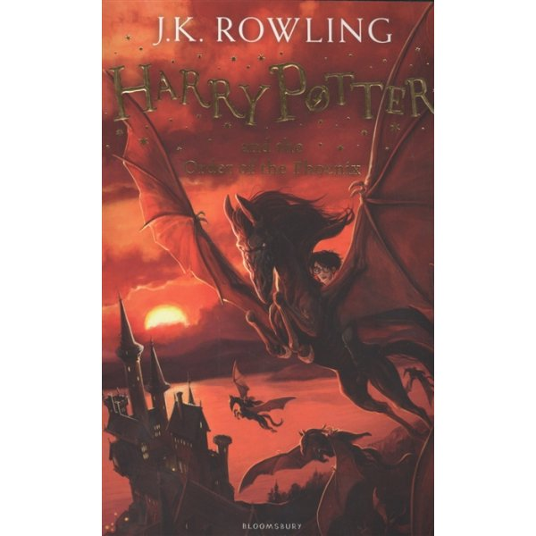 J. K. Rowling Book 5 Harry Potter and the Order of the Phoenix