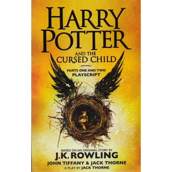 978-0-7515-6536-2 J. K. Rowling Book 8 Harry Potter and the Cursed Child. Parts One and Two