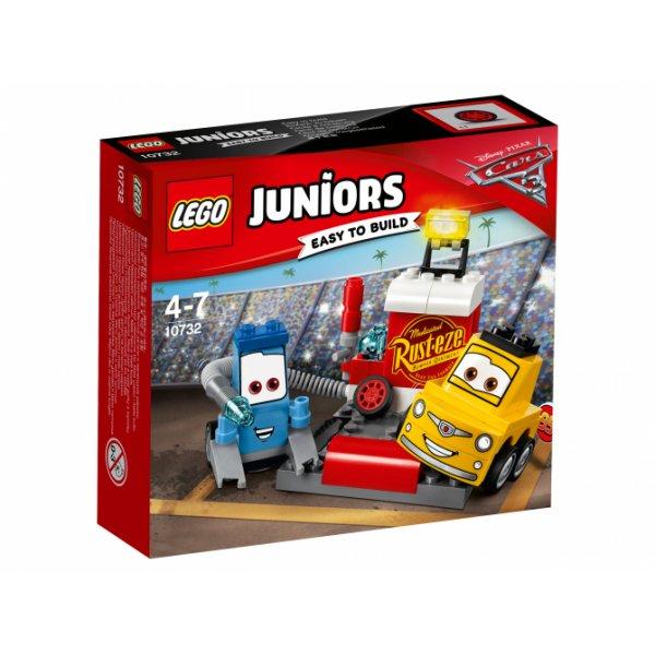 10732 LEGO Juniors 10732 Пит-стоп Гвидо и Луиджи