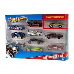 Mattel Hot Wheels 54886 Хот Вилс Подарочный набор из 10 машинок