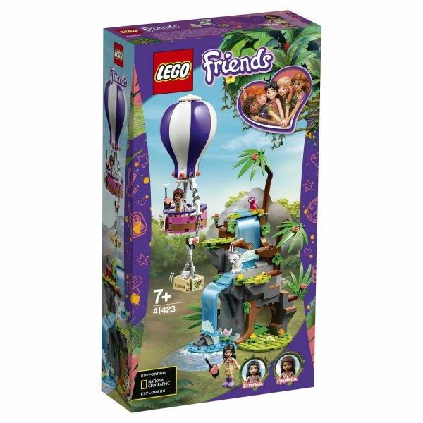 Набор Лего LEGO Friends 41423 Джунгли: спасение тигра на воздушном шаре