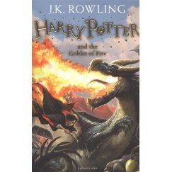 J. K. Rowling Book 4 Harry Potter and the Goblet of Fire