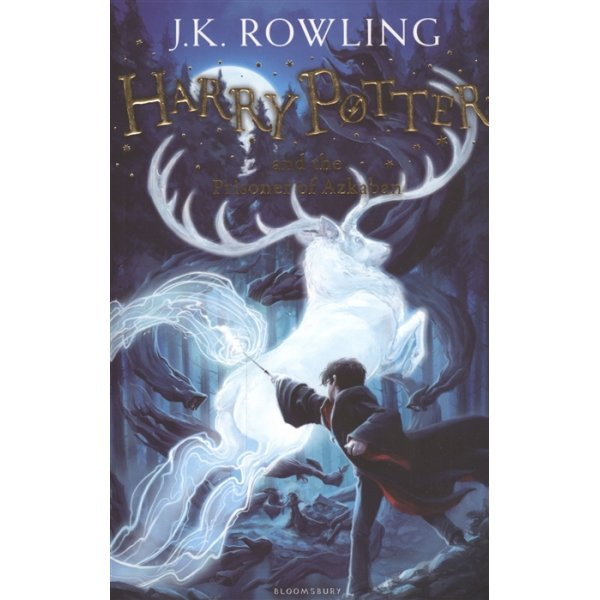 J. K. Rowling Book 3 Harry Potter and the Prisoner of Azkaban