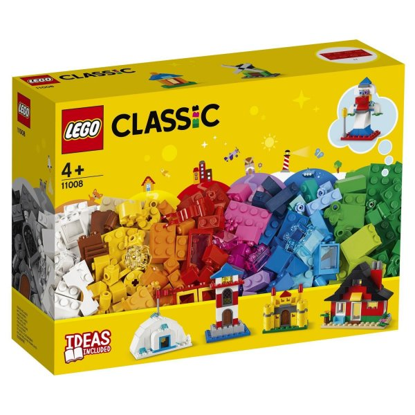11008 Конструктор LEGO Classic 11008 Кубики и домики