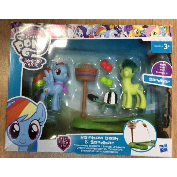 E2582/B9160 Игровой набор Hasbro Пони-модницы: Парочки Princess Celestia & Fluttershy (Флатершай и Принцесса Селестия)
