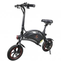 Электровелосипед KUGOO V1 Jilong 400W (36V/7.5Ah) черный