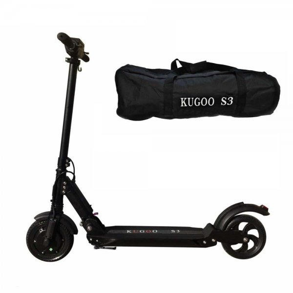 162178-1 Электросамокат KUGOO S3 Jilong 350W (36V/8.8Ah) черный