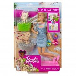 Кукла Barbie и домашние питомцы, FXH11