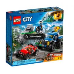 Набор лего - Лего 60172 City Police Погоня по грунтовой дороге