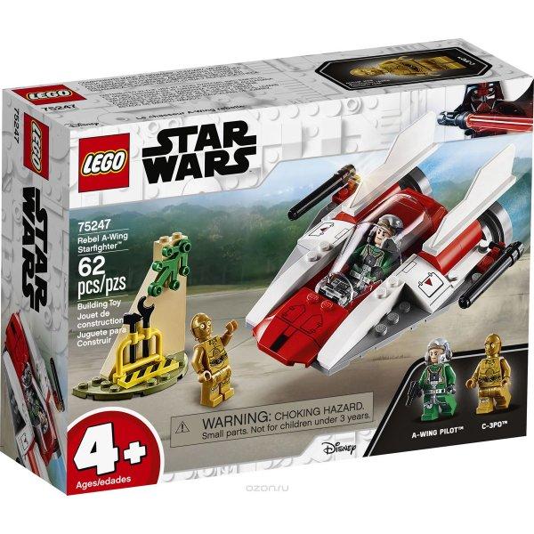 LEGO Star Wars 75247 LEGO Star Wars TM 75247 Звездный истребитель типа А Конструктор