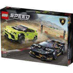 Набор лего - Конструктор LEGO Speed Champions Lamborghini Urus ST-X & Lamborghini Huracan 76899