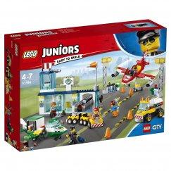 LEGO Juniors 10764 Конструктор LEGO Juniors Городской аэропорт 10764