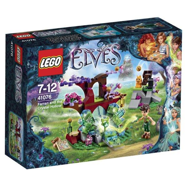 LEGO Elves 41076 LEGO Конструктор LEGO Elves Фарран и Кристальная Лощина (41076)