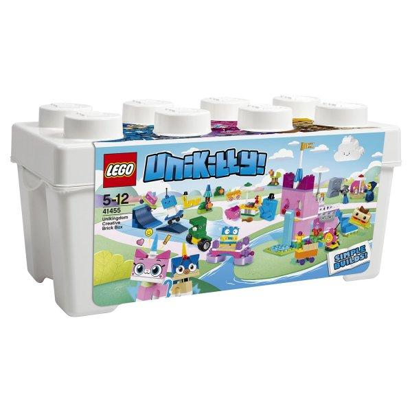 LEGO Эксклюзив 41455 Конструктор LEGO Unikitty Коробка кубиков для творческого конструирования Королевство 41455