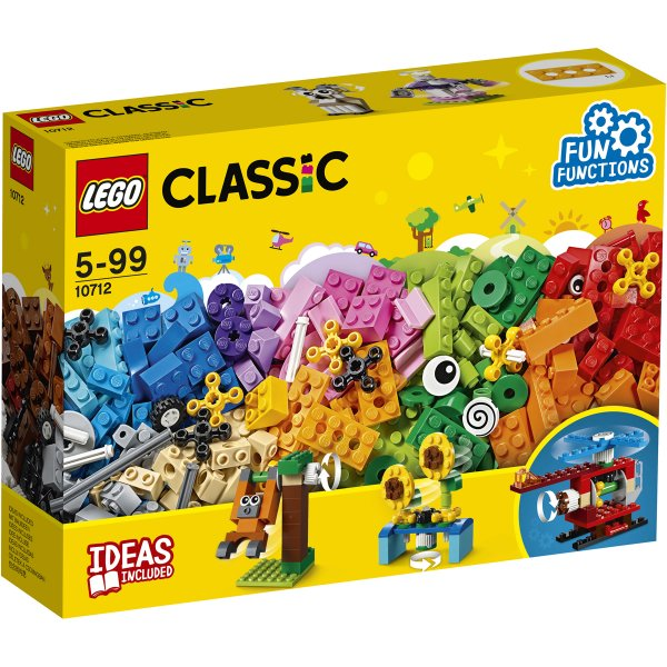10712 LEGO CLASSIC Кубики и механизмы 10712