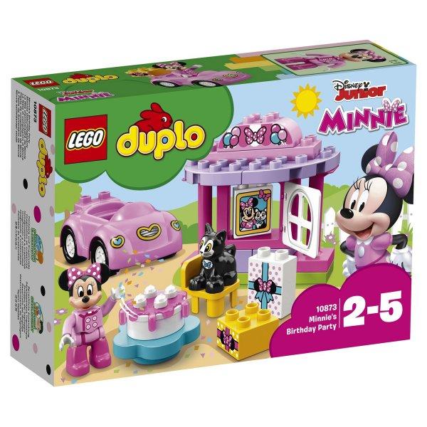 10873 Конструктор LEGO DUPLO Disney День рождения Минни