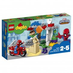 Конструктор LEGO Duplo Приключения Халка и Человека-паука