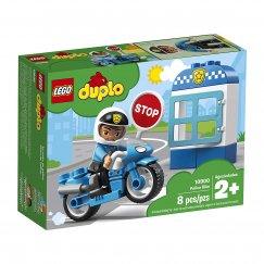Набор лего - Конструктор LEGO Duplo Полицейский мотоцикл