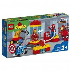 Набор лего - Конструктор LEGO DUPLO Super Heroes Лаборатория супергероев