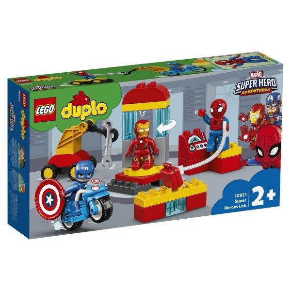 10921 Конструктор LEGO DUPLO Super Heroes Лаборатория супергероев