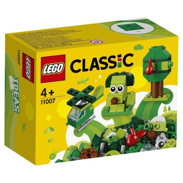 11007 Конструктор LEGO Classic Зеленый 11007