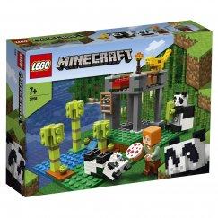 Набор лего - Конструктор LEGO Minecraft Питомник панд 21158