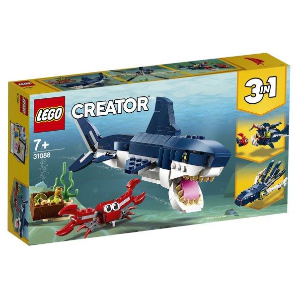 31088 Конструктор Lego Creator 31088 Конструктор Обитатели морских глубин