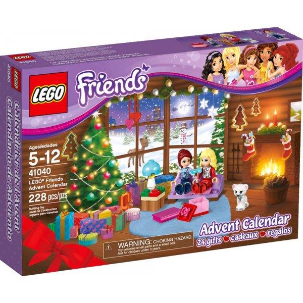 41040 Новогодний календарь Friends