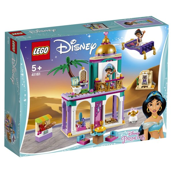 41161 Конструктор LEGO Disney Princess 41161 Приключения Аладдина и Жасмин во дворце
