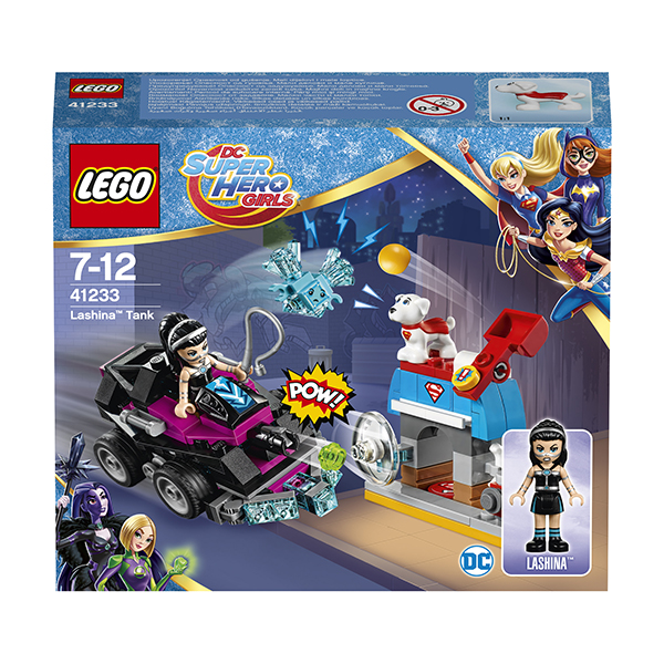 41233 Конструктор LEGO DC Super Hero Girls 41233 Танк Лашины