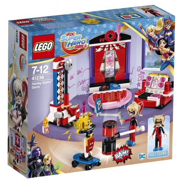 41236 Конструктор LEGO DC Super Hero Girls 41236 Дортуар Харли Квинн