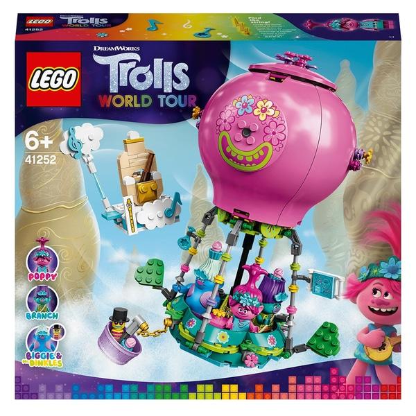 41252 LEGO Trolls 41252 Конструктор ЛЕГО Тролли Путешествие Розочки на воздушном шаре