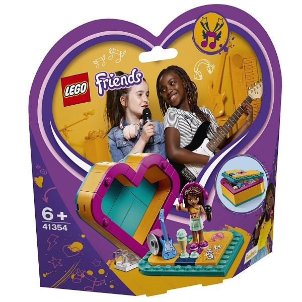41354 Lego Friends 41354 Конструктор Шкатулка-сердечко Андреа