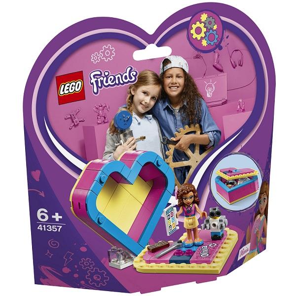 41357 Lego Friends 41357 Конструктор Шкатулка-сердечко Оливии