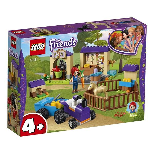 41361 Лего Подружки 41361 Конструктор Конюшня для жеребят Мии