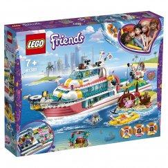 Набор лего - Конструктор LEGO Friends Катер для спасательных операций