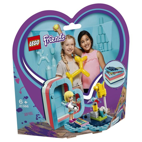Набор Лего Конструктор LEGO Friends Летняя шкатулка-сердечко для Стефани