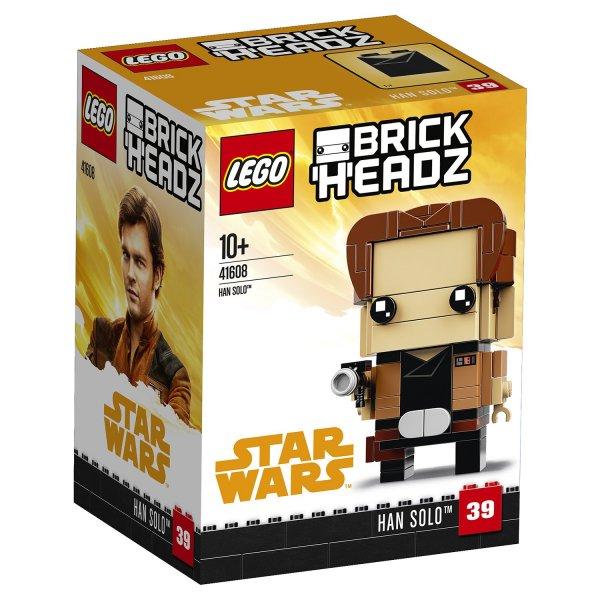 Набор Лего Конструктор LEGO BrickHeadz 41608 Хан Соло